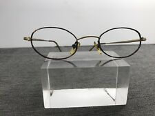 Perry Ellis Eyeglasses 44-21 135 Gold/Tortoise Flex Hinge France K63
