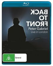 Peter Gabriel - Back To Front - Live In London (Blu-ray, 2014)