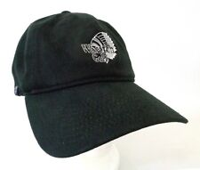 Wasatch Golf Indian Head Strapback Hat Black White Embroidered One Size Cap PUMA