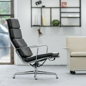 Charles & Ray Eames - Soft Pad Lounge Chair by Vitra EA 222 - Herman Miller