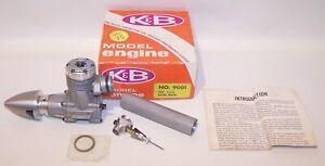 New In Box 1975 K & B 6.5 R.I.R.E R/C Racing Model Airplane Engine