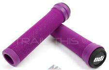 ODI Soft Flangeless Longneck Grips Softies for BMX Bikes & Scooters 135mm PURPLE