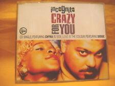 MAXI Single CD INCOGNITO Crazy For You 4TR 1991 acid jazz