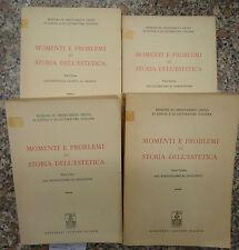 Aa.Vv., MOMENTI E PROBLEMI DI STORIA DELL'ESTETICA IN 4 VOLL., Marzorati 1968