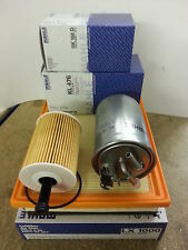 VW Sharan 1.9TDi 1896cc Oil Air Fuel Filter 2002-06 Genuine Mahle 130bhp