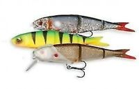 SAVAGE GEAR SOFT 4PLAY LIP SCULL KIT 3+1  PIKE FISHING LURES  crazy price