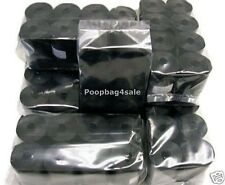 800 PET DOG WASTE PICK UP POOP BAGS WITH THICKNESS 13 MICRONS BLACK REFILLS