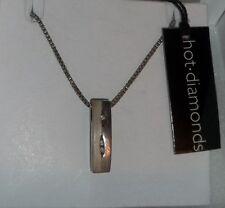 Hot Diamonds sterling silver and diamond necklace NWT originally $99.99