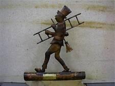 Dachrinnenfigur Kaminfeger Schornsteinfeger Dachfigur Figur Kupfer oder in Zink