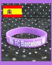 PULSERA SILICONA ★★ FC BARCELONA varios colores ★★various colors FUTBOL FOOTBALL