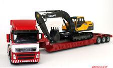 ♠Motorart 300037 VOLVO FH 16 With Lowboy Trailer + VOLVO EC 220 D Excavator 1:50
