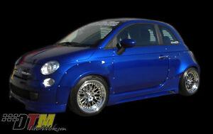 Fiat 500 POP DTM Widebody Body Kit FRP Rivet On Style Race
