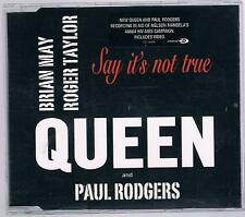QUEEN AND PAUL RODGERS SAY IT'S NOT TRUE CD SINGOLO SINGLE cds
