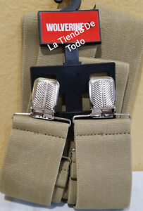XTRA EXTRA LARGE XL HD HEAVY DUTY SUSPENDERS FOR WOLVERINE FITS WV7666A230 READ