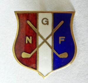 Norway Golf Federation sport pin badge abzeichen