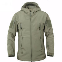 Hot TAD Hunting Outdoor Softshell Military Tactical Jacket Men Waterproof Army