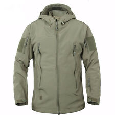 Hot Sell Hunting Outdoor Softshell Military Tactical Jacket Men Waterproof Army