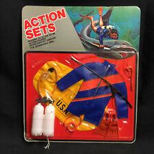 Action Man-Gi Joe-acción conjuntos-undewater Explorer/Buzo Uniforme-cardado
