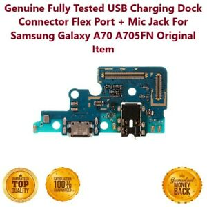 Samsung Galaxy A70 A705FN Charging Port Dock Connector Flex Cable Replacement