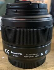Panasonic Leica 25mm f/1.4 Aspherical Summilux Lens - Complete, Great, H-X025 FS