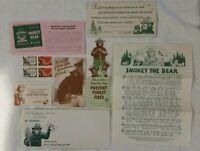 Vintage Smokey the Bear Junior Forest Ranger Kit, Complete