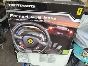 Thrustmaster Ferrari 458 Italia Racing Wheel & Pedal Set Xbox 360 & PC