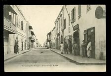 Africa France Cols Senegal ST LOUIS Rue de la Paix 1906 u/b PPC mailed from