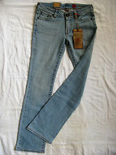 Tribeca Damen Blue Jeans Stretch Japan Denim W28/L34 low waist slim fit bootcut