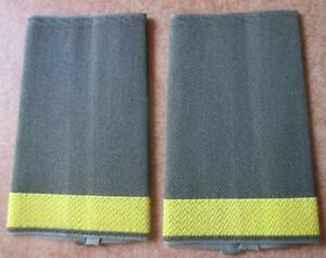 Leutnant z.S  gold oliv  Paar BW Rangschlaufen Marine Navy