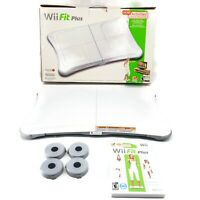 Nintendo Wii Fit Plus Balance Board Wii Fit Plus Game Combo Tested Original Box