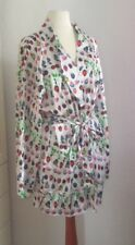 Versace for h&m Cruise Collection Kimono Soie Peignoir Jacket Robe Gown XS