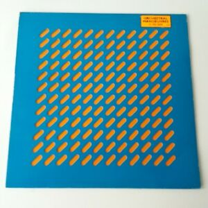 OMD Orchestral Manoeuvres in the Dark - Self Titled Vinyl LP UK 1st Press EX/EX
