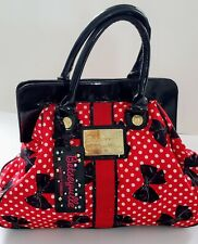 Betseyville by Betsey Johnson Polka dots and Bowtie