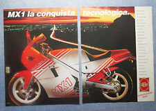 MOTOSPRINT988-PUBBLICITA'/ADVERTISING-1988- GILERA MX1 125