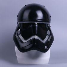 Star Wars Helmet The Force Awakens Stormtrooper Helmet Handmade Black Cosplay