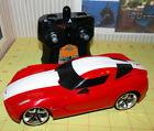 Jada 2009 Chevrolet Corvette Stingray Concept 1:18 scale 27 MHZ RC Car