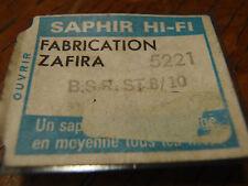 ZAFIRA SAPHIR HIFI 5221 POUR   B.S.R ST 8/10 PLATINE VINYL