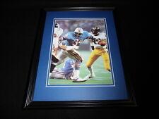 Earl Campbell Framed 11x14 Photo Display Oilers vs Steelers