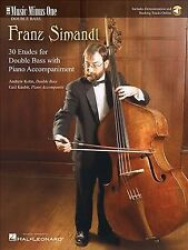 Franz Simandl : 30 Etudes for Double Bass & Piano, Paperback by Simandl, Fran...