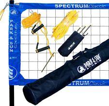 Park & Sun TS-CL Spectrum Classic Volleyball Set Blue Net
