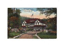 MOUNTAIN VALLEY HOTEL SANITARIUM HOT SPRINGS OZARKS F.C. BOVING C.T.PHOTOCHROM