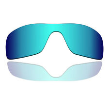 Polarized&Anti-scratch Replacement Lenses for-Oakley Batwolf Ice Blue Mirrored