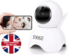 WiFi Smart HD IP Pet Camera Motion House Monitoring Night Vision Tooge Camera UK
