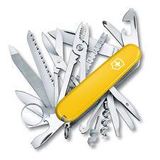 Swiss Champ SwissChamp Victorinox Taschenmesser pocket knife, gelb, yellow, rar