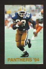 Pittsburgh Panthers--Curtis Martin--1994 Football Pocket Schedule--Poweradew