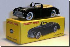 Simca 8 sport noir cabriolet Dinky Toys 24S Atlas F 1/43 Neuf Huit