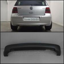 Rear bumper spoiler for VW GOLF4  MK4 25th ANNIVERSARY ABS without exhaust holes