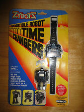 Vintage 1984 ZYBOTS TIME CHANGERS Robot Watch from REMCO *NEW & SEALED*