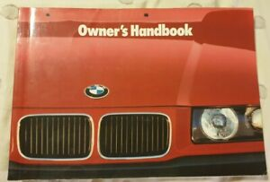 BMW Genuine OEM E36 Owners Manual Booklet