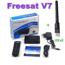 Freesat V7 HD 1080P DVBS2 DVR Digital Satellite Receiver -48H-TV Box+USB Wifi
